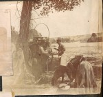 Chuckwagon cooking 1890s Idaho